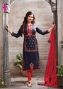 Cotton And Satin Achkan And Regular Kurtis