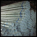 Galvanized Welded Steel Pipes / GI ERW Pipes