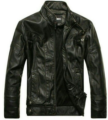 9ed7bbcde Men Faux Leather Jackets