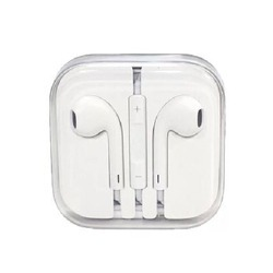 White iPhone Headset