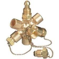 Brass Gas Cylinder Manifold