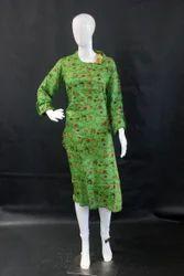 Regular Digital Printed Ladies Cotton Kurti