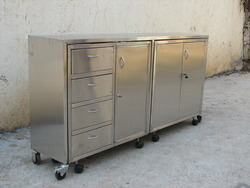Steel Cabinet Trolley