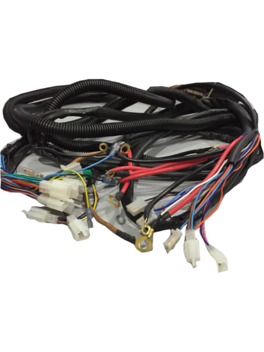e rickshaw wiring harness 500x500 e rickshaw wiring harness, wire harness bhauka auto industries horn wiring harness india at bayanpartner.co
