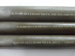 Carbon Steel Seamless Pipes 1018 GRADE