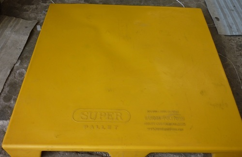 Super Yellow Warehouse Pallet, Dimension/Size: 1200x1000x150mm
