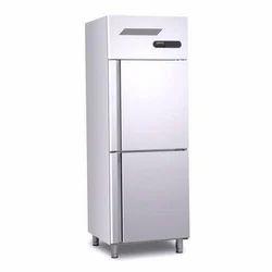 Blue Star Two Door Vertical Freezer, Temperature Range: -5 To 8 Degree C, Capacity: 400 L