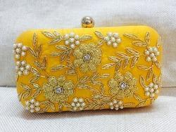 Traditional Zardosi Work Evening Clutches