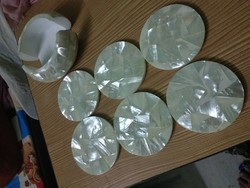 Mother Of Pearl Tea Coaster Set