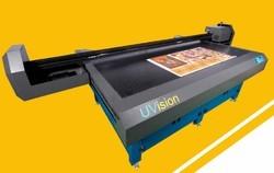 4000 W Uvision  Flatbed Printer