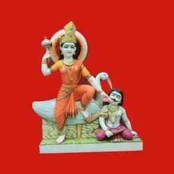 Marble Bagulamukhi Statue