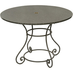 Carbon Round Residential Table