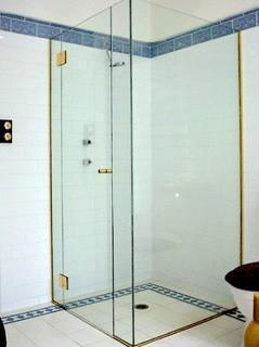 Glass Partition At Rs Square Feet Glass Partition ID - Bathroom glass partition price