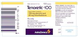 Tenoretic Generic Pills