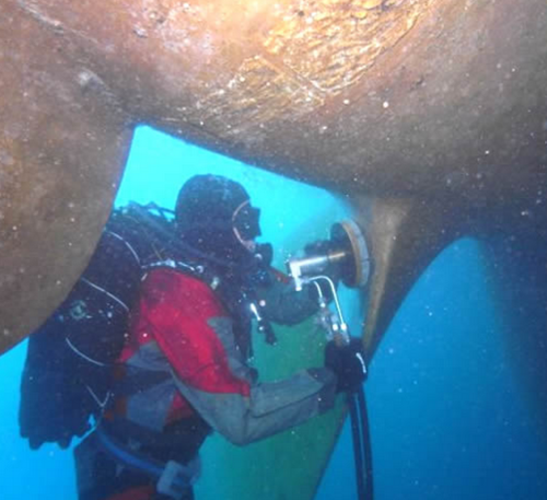 Underwater Intake Cleaning Service