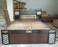 Wooden Double Bed In Jammu Jammu Kashmir Get Latest Price From Suppliers Of Wooden Double Bed Acme Double Bed In Jammu