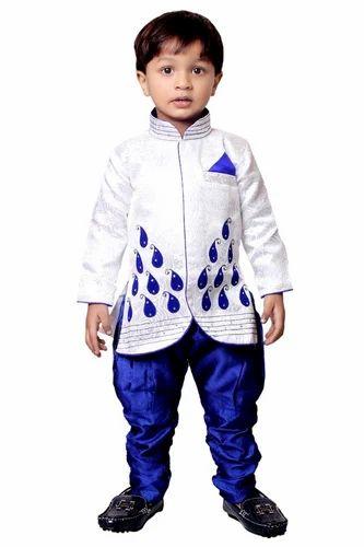 Kids Ethnic Wear Boys Designer Sherwani Manufacturer