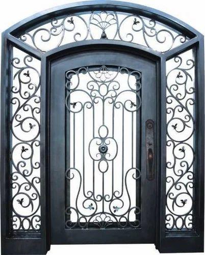 Iron Door & Iron Door | Sebra Fabricators u0026 Engineering | Manufacturer in Kolar ...