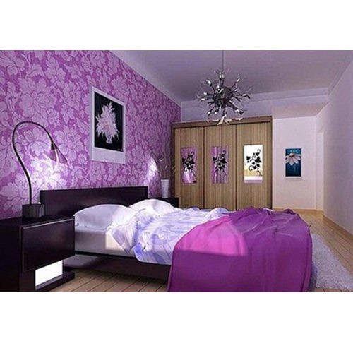 Wall Paper Designing Service - Living Room Wallpaper Design