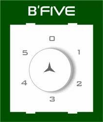 B'Five White 5 Step Fan Regulator (2 M), for Ceiling Fan