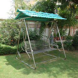 Stainless Steel Garden Swing