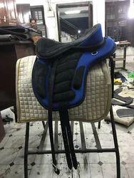 Synthetic Blue Freemax Saddle