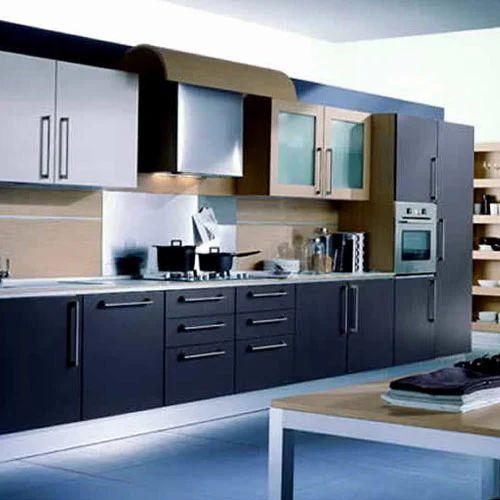Kitchen Chimney Interior Design: Stylish Kitchen Interior Designing Service In Hafeezpet
