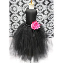 Mystic Black Kids Gown