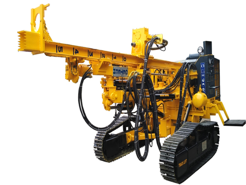 Manufacturer of Drilling Rigs & Blast Hole Drilling Rig by Getech