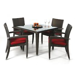 Wicker Designer Dining Table