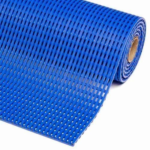 Blue Polyurethane Anti Slip Mat, Size: 2 X 20 Meter ...