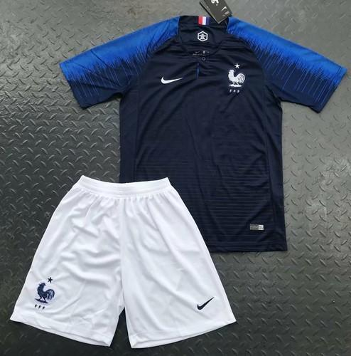 differently 25df7 696aa France Home Kit 2018 Worldcup Jersey