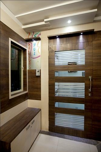 Safety Door Modern Wooden Safety Door Manufacturer From Mumbai