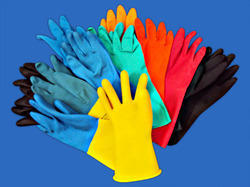 All Types of Rubber Industrial Glove