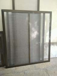 Aluminium Mesh Windows