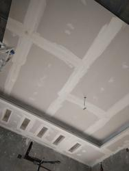 Gypsum False Ceiling Works