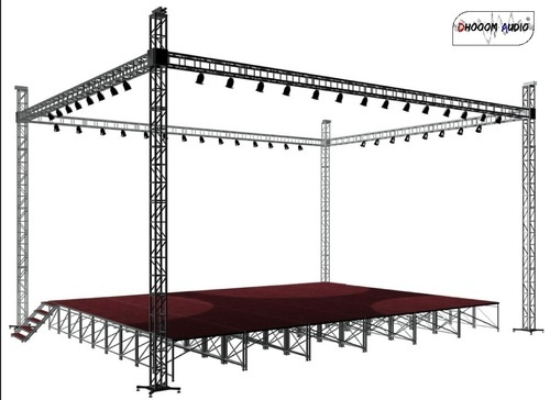 iron stage truss at rs 160 kilogram chhoti gwaltoli indore id 10863853230. Black Bedroom Furniture Sets. Home Design Ideas