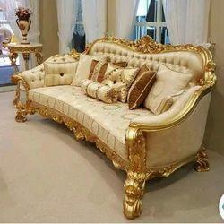 Wooden Carved Sofa Set In Mumbai Maharashtra Carving