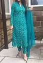 Pakistani Cut Work Dress