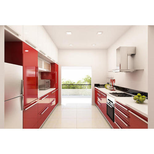 Designer Modular Kitchen At Rs 360 Square Feet: Parallel Modular Kitchen At Rs 580 /square Feet