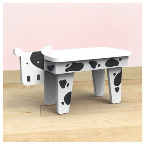 Superbe Cow Jungle Study Table