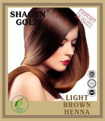 Natural Brown Hair Color Powder
