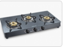 Sunflame Crystal Granito 3B BK A I Glass Cooktop
