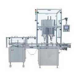 Servo Based Powder Filling Machine