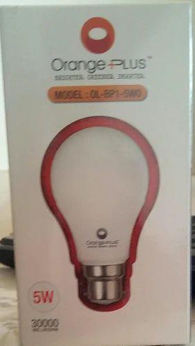 Round Led Light Bulb Base Type B22 Rs 75 Watt Akshay Electrical
