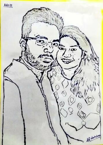 Handmade sketches pp sketch retailer from bhopal