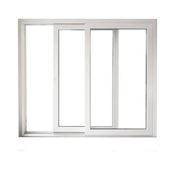UPVC Two Track Window