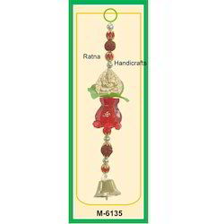 Nariyal And Ganesh Decorative Hanging For Giveaways/ Car Decoration/ Multi Use