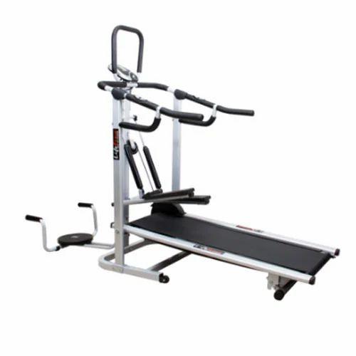 4 In 1 Deluxe Manual Treadmill, मोटराइज्ड ट्रेडमिल