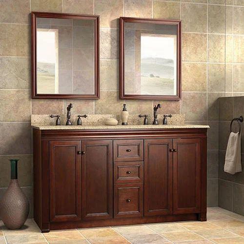 Double Sink Bathroom Vanities At Rs